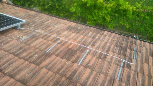 Vodilice AL žice Uzemljenje