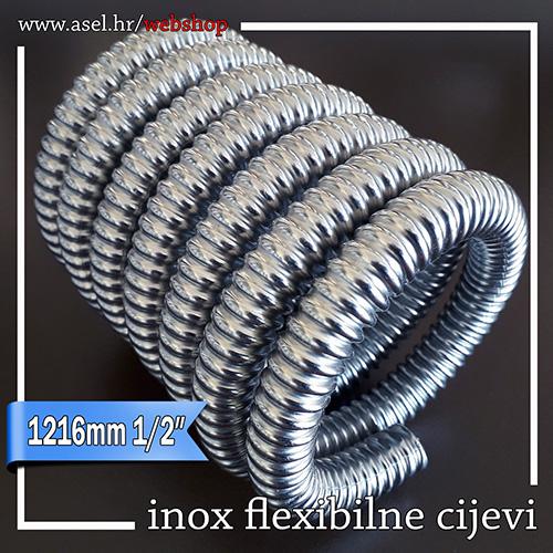 INOX FLEKSIBILNA CIJEV 1-2 ASEL