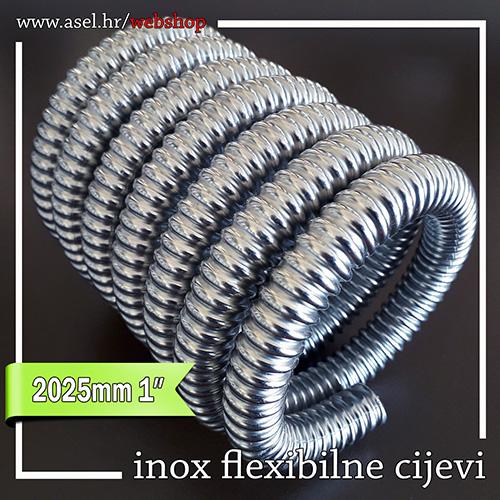 INOX FLEKSIBILNA CIJEV 1 ASEL