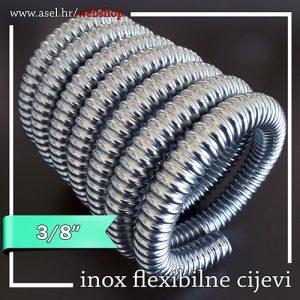 INOX FLEKSIBILNA CIJEV 3-8 ASEL